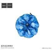 【包邮】浩酷 蓝天白云晴雨伞 折叠遮阳防紫外线晴雨伞