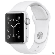 【apple授权专卖】WATCH SerieS242mm(PJ2)银配白38mm(NW2)银配白