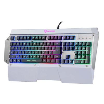 包邮摩豹K800游戏竞技键盘七彩虹光游戏键盘超大手托网吧键盘LOL