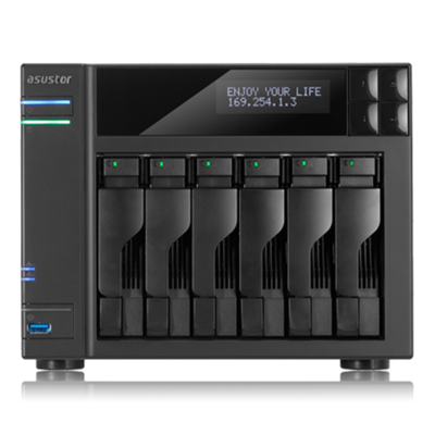 华芸 AS-606T 六盘位NAS网络存储服务器(不含硬盘)