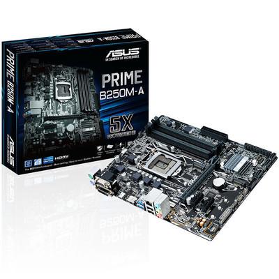【行货保证限时特惠】华硕 PRIME B250M-A DDR4全固态台式机游戏电脑主板mATX 非b150