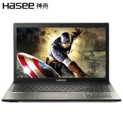 【顺丰包邮】神舟 战神K670D-G5D1 15.6英寸游戏本笔记本电脑(i3-7100 8G 1T GTX1050 4G独显 1080P IPS)