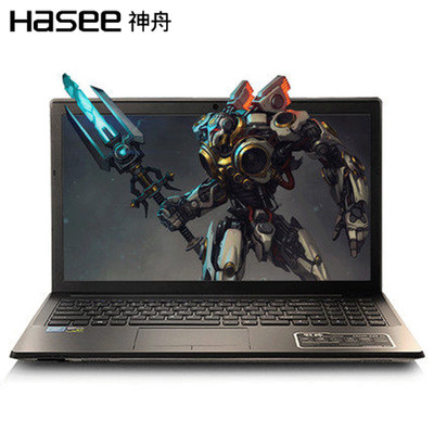 【顺丰包邮】神舟 战神K660D-G5D1 15.6英寸游戏笔记本电脑(I3-6100桌面级处理器 8G 1TB GTX960-4G发烧级独立显卡)