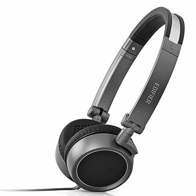 漫步者(EDIFIER) H690 便携头戴式耳机 手机耳机 铁灰色
