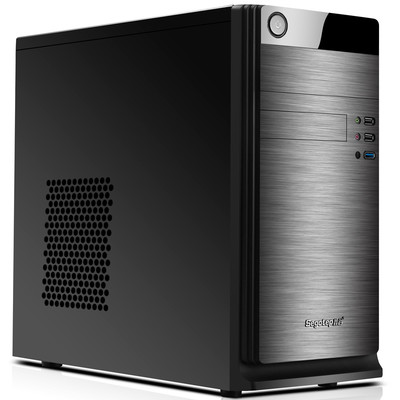 鑫谷 3C一号MATX电脑台式机机箱 简约拉丝面板 原生USB3.0 3C标准设计