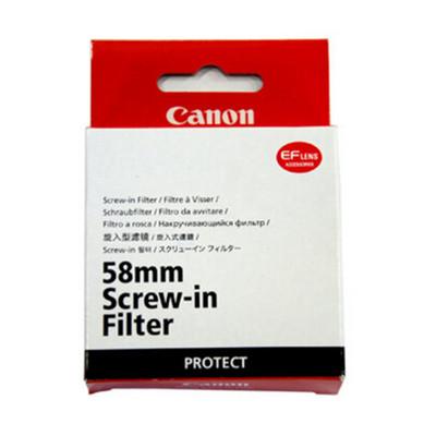 佳能 58mm普通滤镜(保护) 佳能(canon)原装UV镜 佳能 原厂UV镜 日本制造 67mm 77mm 72mm 82mm