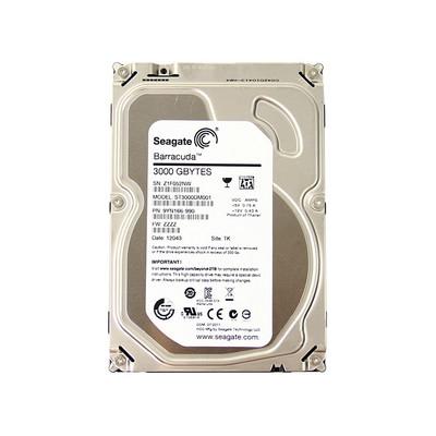 希捷Barracuda 3TB 7200转 64MB(ST3000DM001)SATA 6GB/秒 台式硬盘