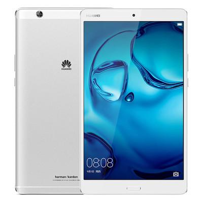 华为(HUAWEI)M3 8.4英寸 通话平板电脑(2560x1600 麒麟950 哈曼卡顿音效 4G/32G LTE)皓月银