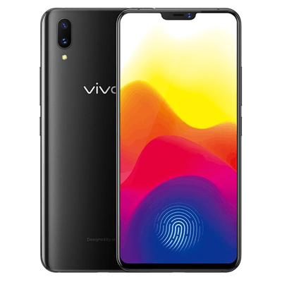 【顺丰包邮】vivo X21 屏幕指纹版 双摄拍照手机 6G+128G 全网通4G 冰钻黑 行货128GB