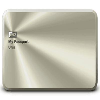 西部数据 My Passport Ultra 周年纪念版 1TB(WDBTYH0010BCG)