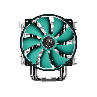 九州(DEEPCOOL) 路西法 CPU散热器(FANLESS被动式散热多平台/6热管/12CM风扇/静音)