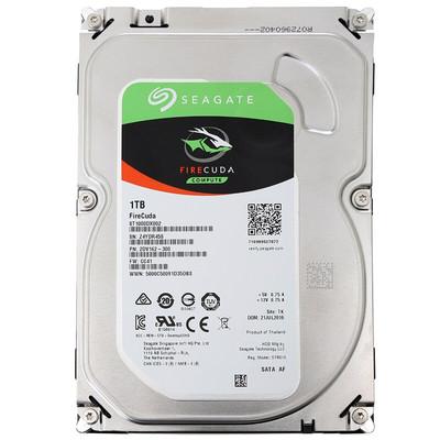 希捷 FireCuda 1TB 7200转 64MB(ST1000DX002)混合固态台式机械盘