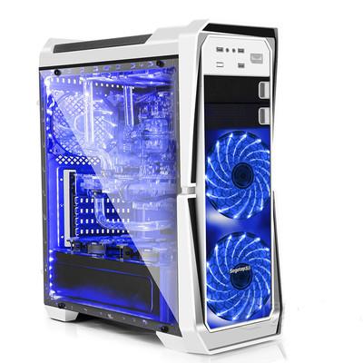 鑫谷GANKⅡ绝击机箱 大侧透设计 240冷排 支持SSD  7个大尺寸风扇位
