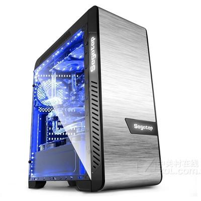 鑫谷(Segotep)EOS爱欧丝 全侧透机箱  360水冷排位/EATX大板位