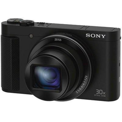 索尼(SONY)DSC-HX90 数码相机 黑色(3英寸180度可翻转屏)