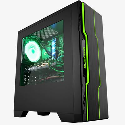 i5 7500台式电脑GTX1060显卡8G内存B250系列主板电竞台式电脑主机DIY游戏整机七色幻彩系列