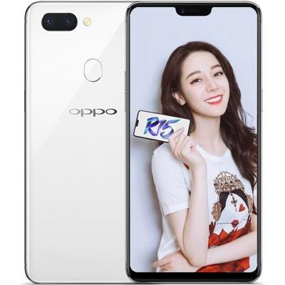 【顺丰包邮】OPPO R15 全面屏 6G+128GB 全网通 移动联通电信4G手机 白色 行货128GB