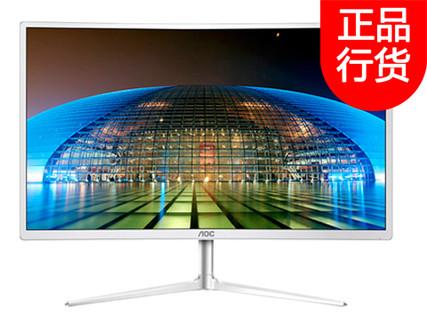 AOC C2408VW8 23.6英寸1800R曲面显示器 电竞游戏曲屏高清电脑显示器 C2408VW8 23.6英寸