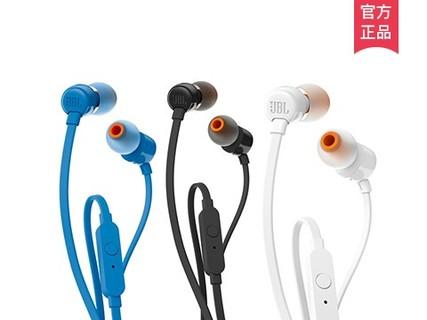 JBL T110高性能强劲低音耳机
