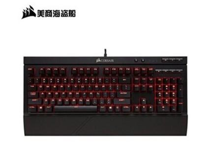 美商海盗船(USCORSAIR)K68机械键盘 LED背光灯 防水防尘 红光 红轴 海盗船K68