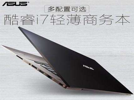 华硕 PU403UF6500(512G SSD全固态硬盘)14英寸商务轻薄本 i7-6500U 8G 128G+500G GT930M